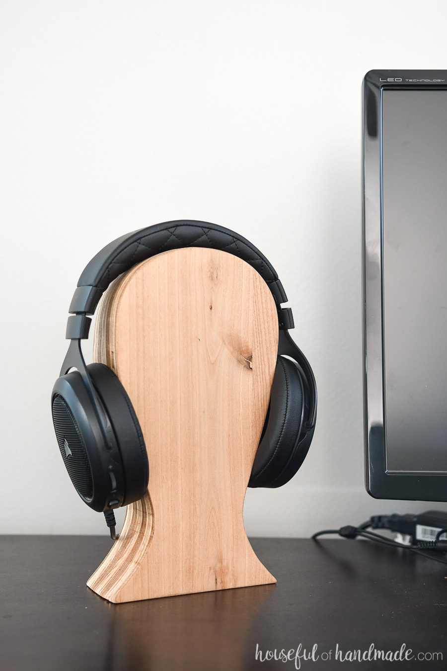 Diy Headphone Stand Houseful Of Handmade