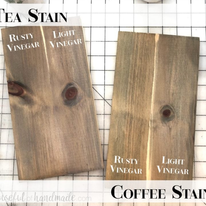 Homemade Natural Wood Stain