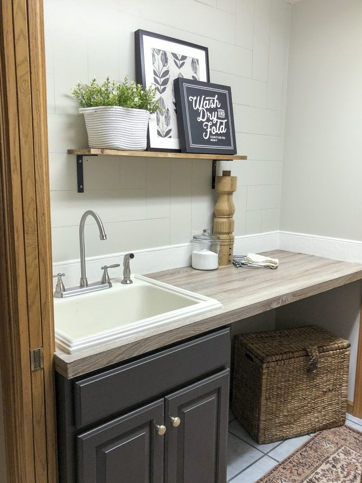 Laundry Room Decor & More | The Final Reveal