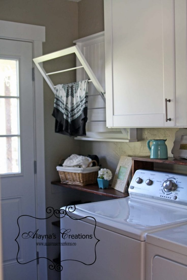 Laundry Room Reveal - $100 Room Challenge - DIY home decor and crafts