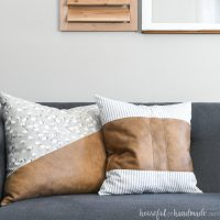 How to Sew DIY Throw Pillow Covers