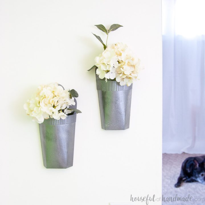 How to Make DIY Wall Vases