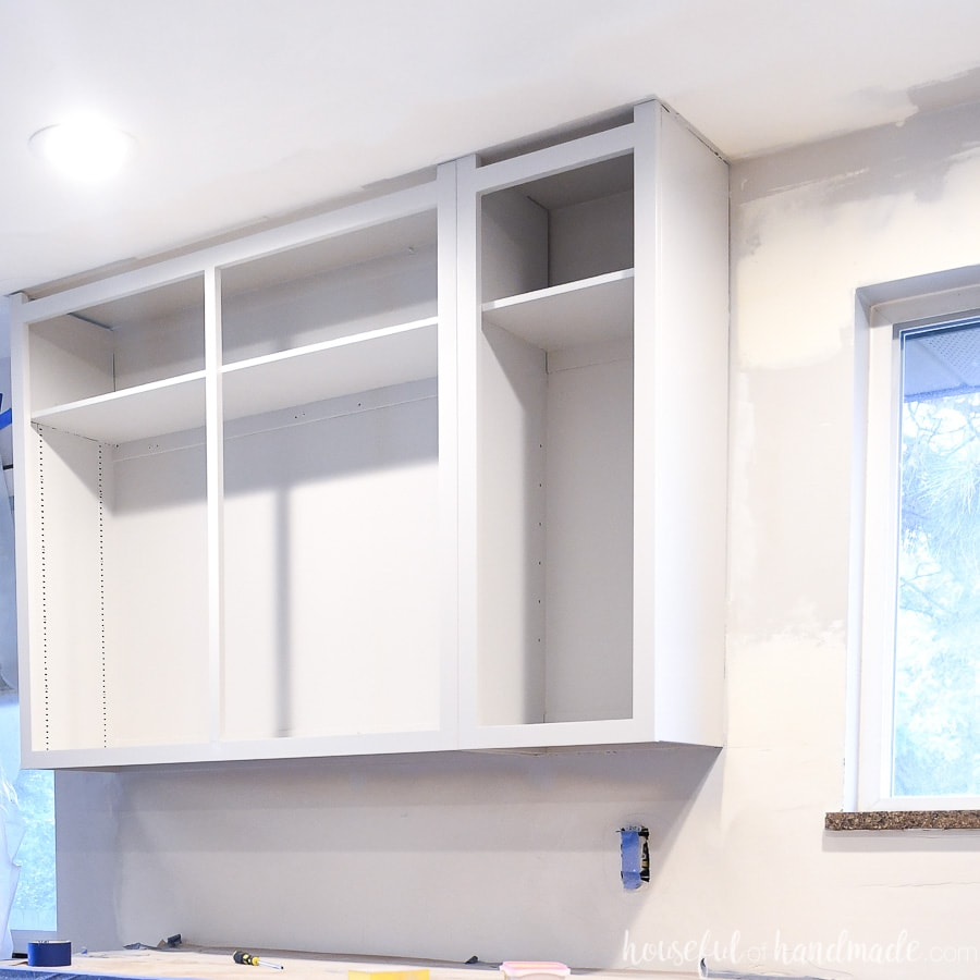 #1- Painting Kitchen Cabinets