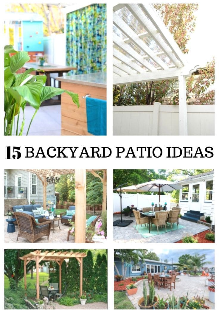 15 Amazing Diy Backyard Patio Ideas On A Budget