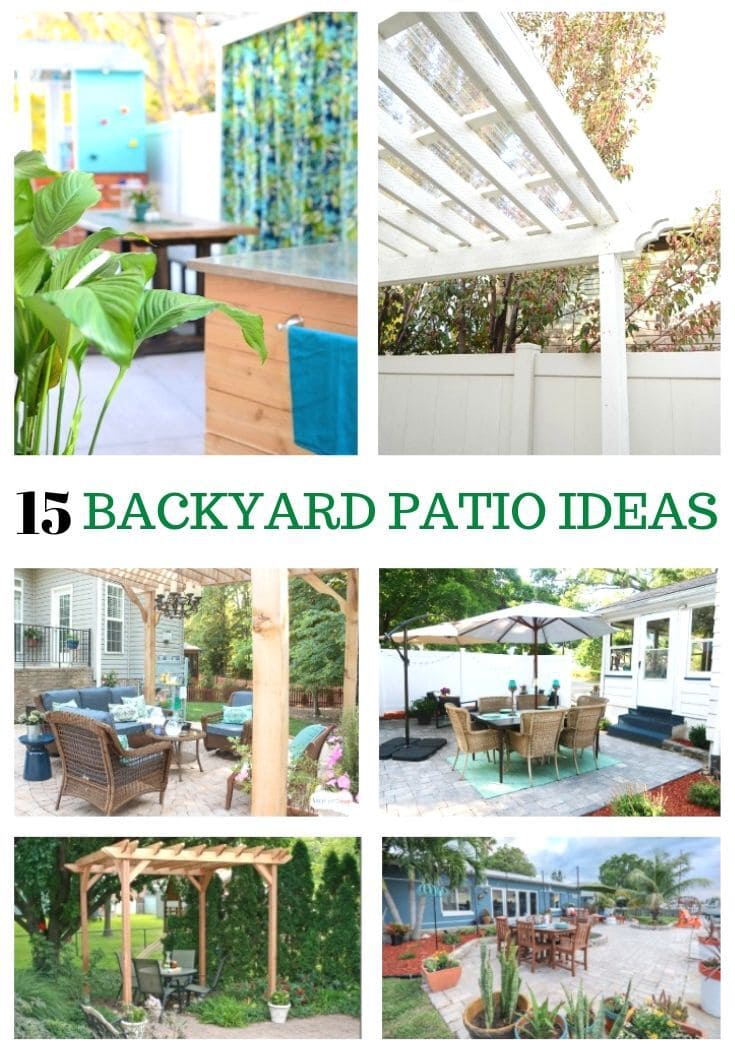 15 Amazing DIY Backyard Patio Ideas