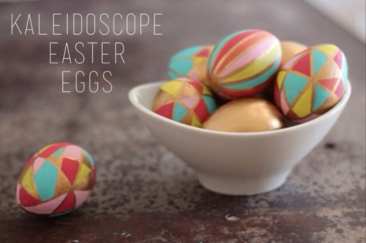 Kaleidoscope Easter Eggs * sparkle living blog
