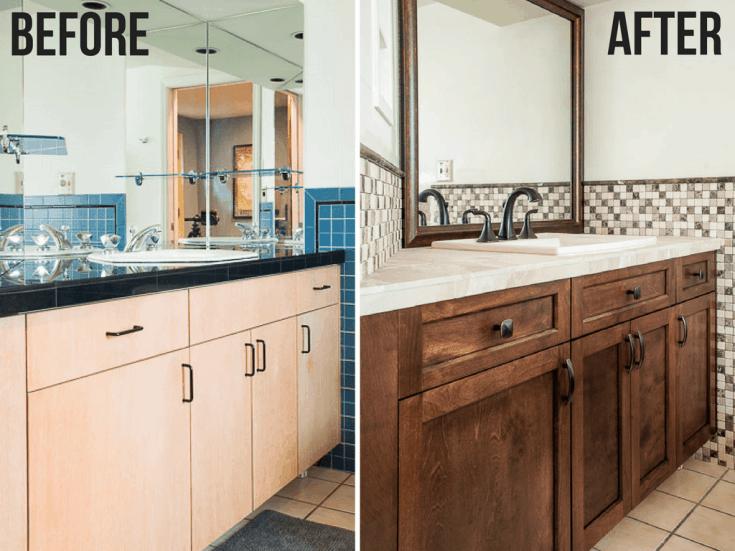 Update Your Bathroom Vanity with New Cabinet Doors