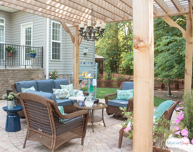 Patio Decorating Ideas: Our New Outdoor Room