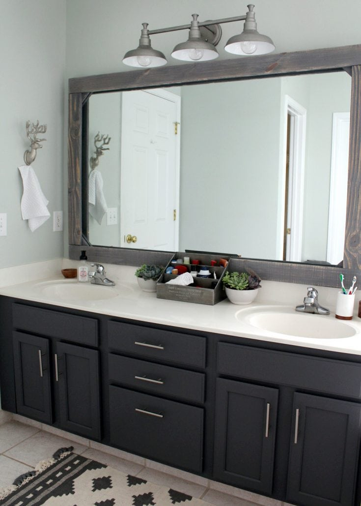 Master Bathroom Update on a $300 Budget