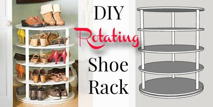 Rotating Shoe Rack Building Plan