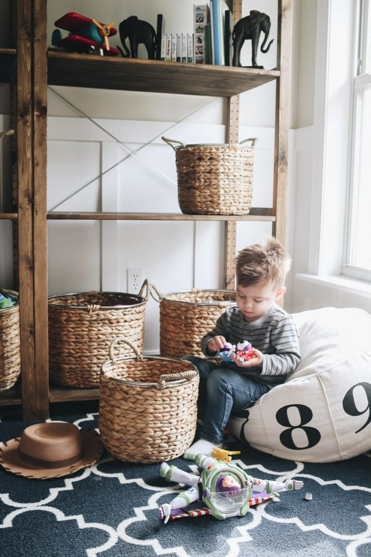 Organizing Playroom Toys