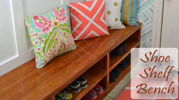 Shoe Shelf Bench - Her Tool Belt