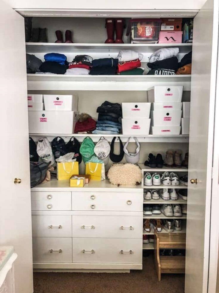 Closet Organization Ideas on a Budget