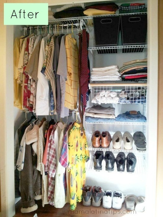 Entering the Abyss: A Closet Makeover for Father's Day