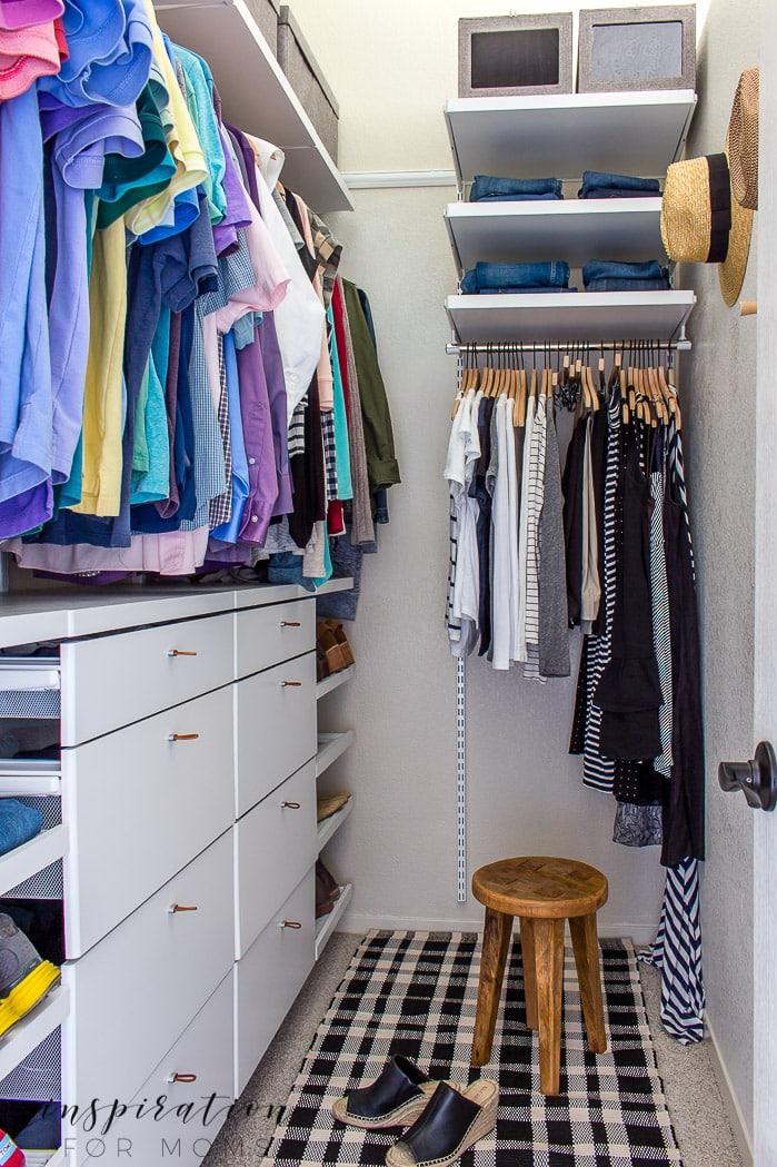 Best Small Closet Organization Tips