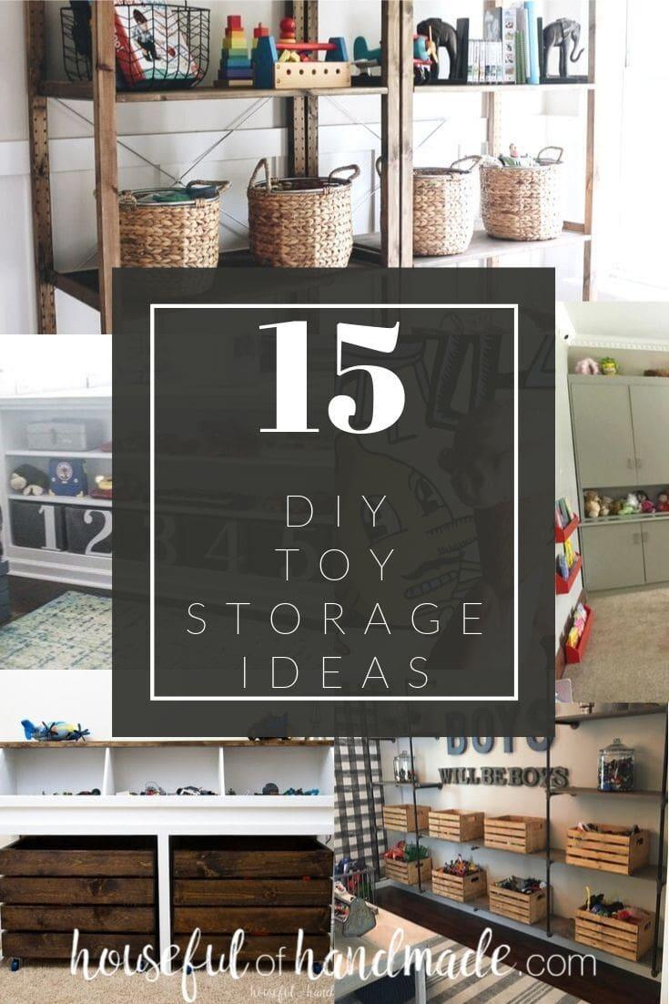Diy Toy Storage Ideas