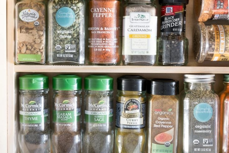 How to Make a Spice Rack for a Drawer: Store Spices in a Drawer