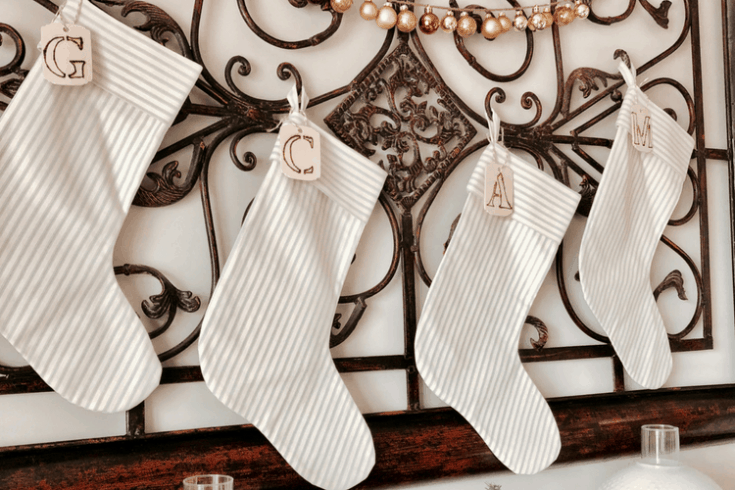 Personalized Stockings – Make Your Own DIY Stocking Tags