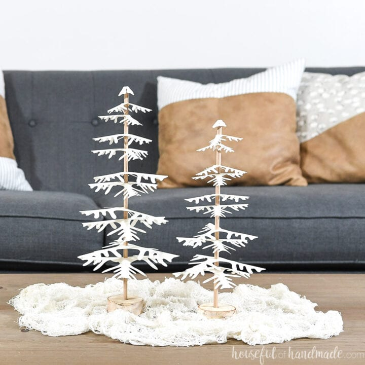 7 Days of Paper Christmas Decor: Decorative Paper Christmas Trees