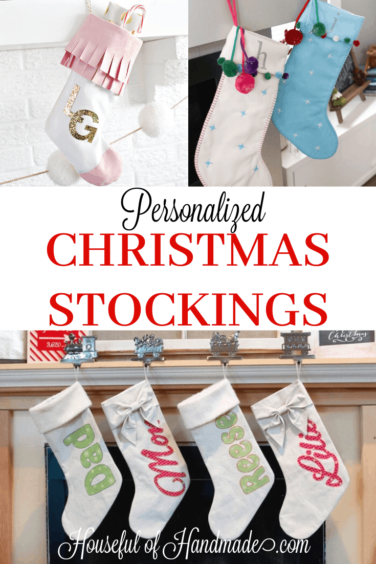 Diy Personalized Christmas Stocking Ideas Houseful Of Handmade