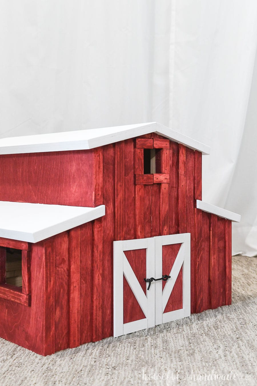 Wooden Toy Barn Build Plans Houseful Of Handmade