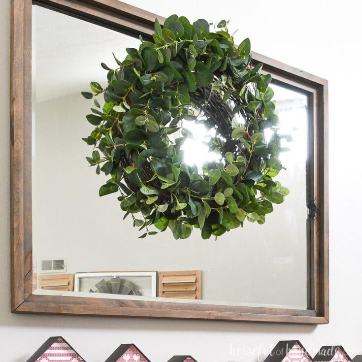 7 Minute Eucalyptus Wreath Tutorial