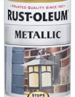 Rust-Oleum 7270830 Stops Rust Metallic Spray Paint, 11 oz, Gold Rush,