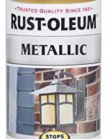 Rust-Oleum 7270830 Stops Rust Metallic Spray Paint, 11 oz, Gold Rush,