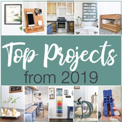 Pictures of all the top 10 DIY projects from 2019.
