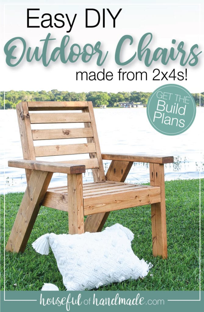 Outdoor Lounge Chair Build Plans