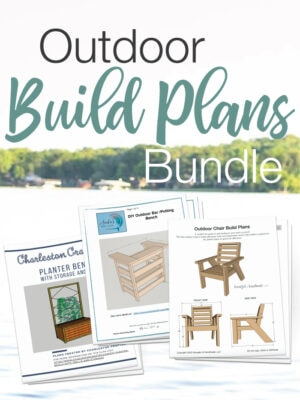 PDF woodworking plan bundle of 3 outdoor build plans.