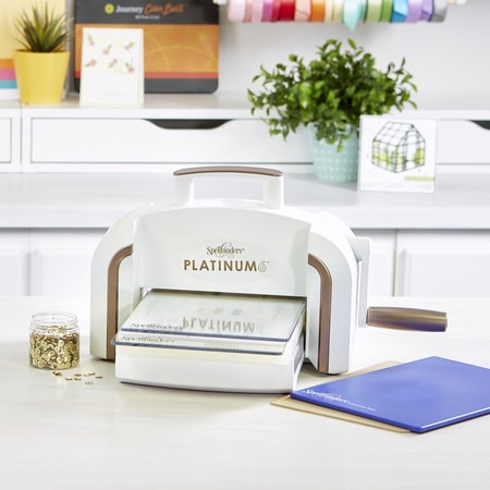 "Platinum 6 Die Cutting and Embossing Machine - 6"" Platform"