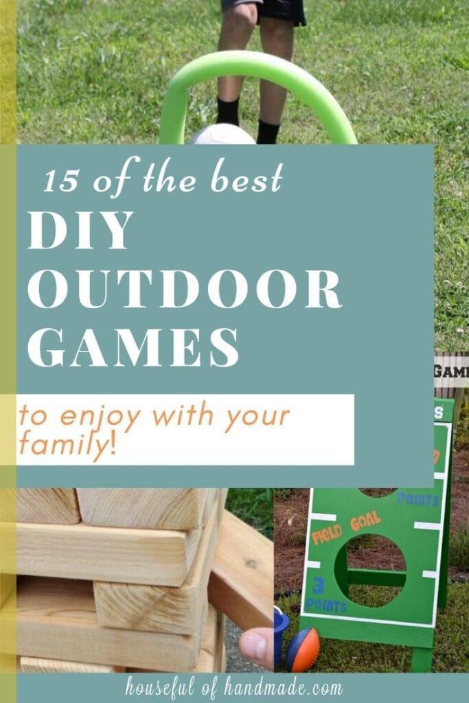 15 DIY Outdoor Games