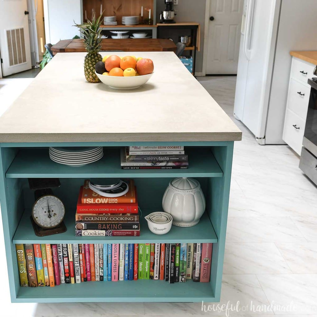 Fast DIY Concrete Countertops in a Day