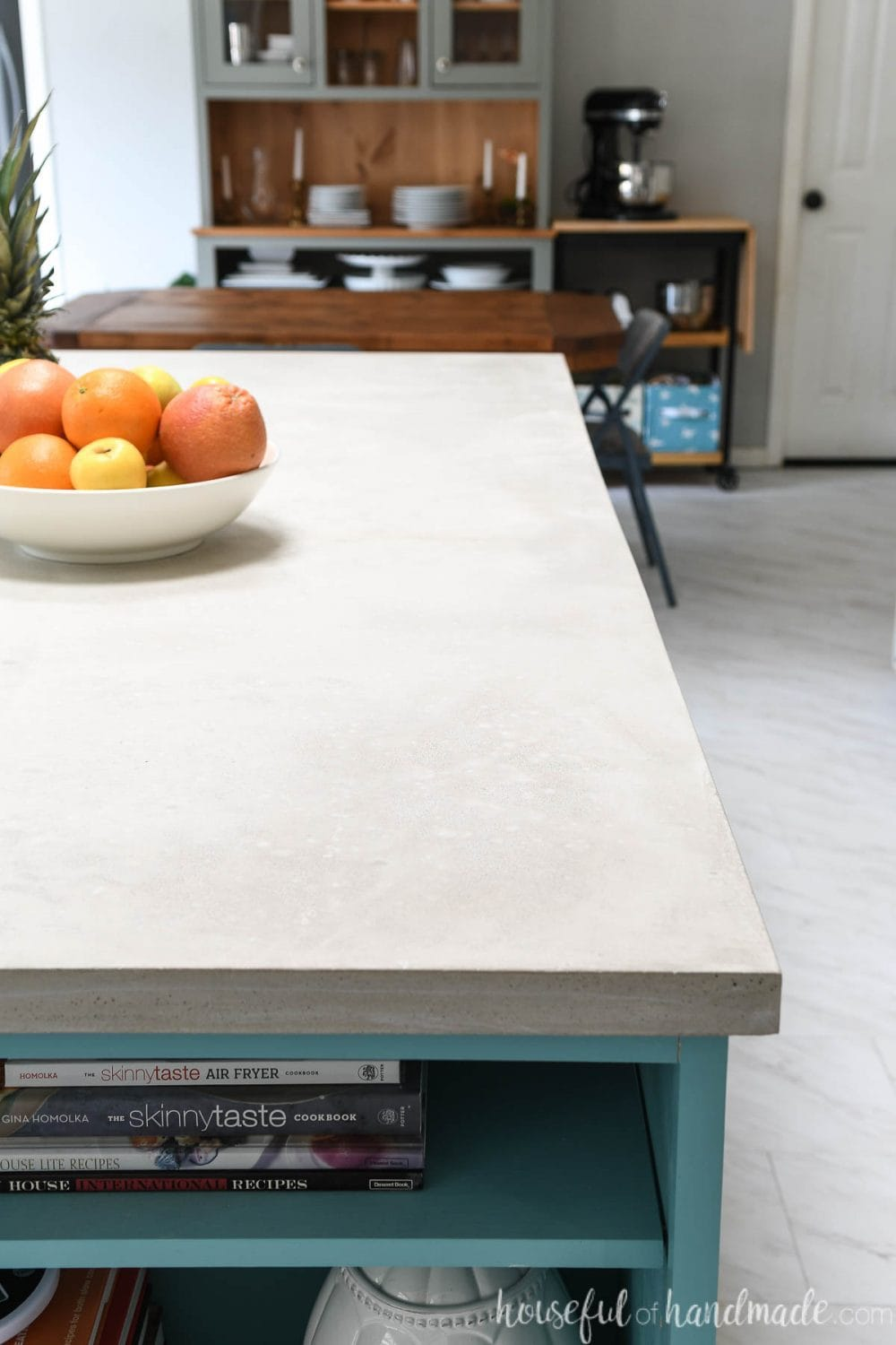 Fast Diy Concrete Countertops In A Day Houseful Of Handmade