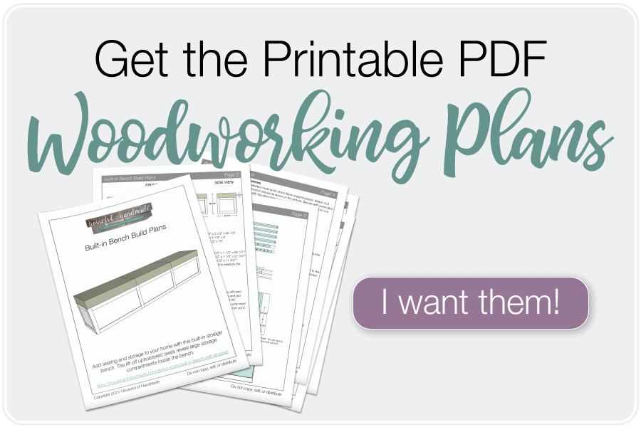 Picture of the PDF build plans and text: Get the Printable PDF woodworking plans, I want them!.
